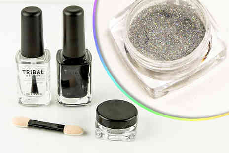 Forever Cosmetics - Three piece holographic nail polish set - Save 90%
