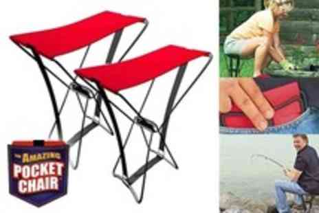 Beesbays - Five Amazing Pocket Folding Chairs - Save 36%
