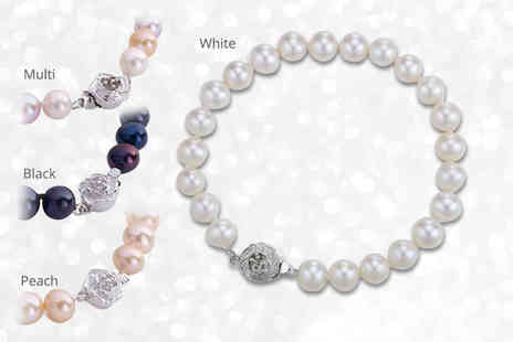 Pearl Shed - Freshwater pearl bracelet - Save 90%