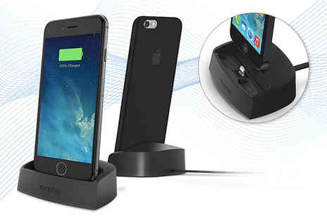 Some More - USB lightning desktop lightning charger choose from two colours - Save 62%