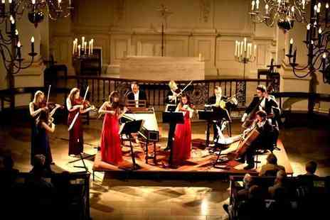 Candlelight Concerts - Ticket to a Concerts by Candlelight classical music performance by London Concertante with a CD and programme - Save 67%