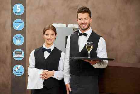 EventTrix - Professional waiter diploma course - Save 84%