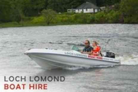 Loch Lomond Boat Hire - Motor Boat Rental For Three Hours - Save 63%