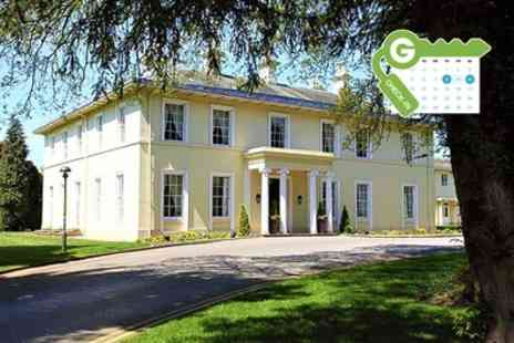 Eastwood Hall - Double Room for Two with Breakfast, Dinner, Prosecco and Leisure Access - Save 51%