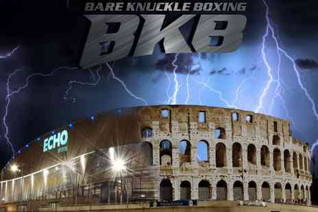 BKB Events - One or two standard floor seating tickets to see Bare Knuckle Boxing on 24 March 2018 - Save 66%