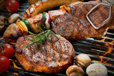 Sabor Brasileiro - Brazilian Barbecue and All You Can Eat Buffet for Up to Four - Save 28%