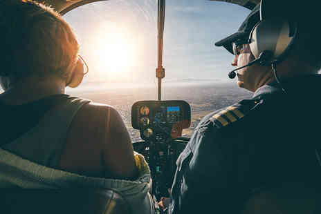 Red Letter Days - Flying lesson including both a 30 minute passenger flight and 30 minutes of hands on flying time - Save 0%