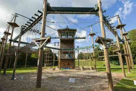 Vertigo Adventures - Two Hour High Ropes Experience for One or Two - Save 40%