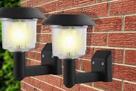 Groundlevel - Solar Powered Wall Lights - Save 70%