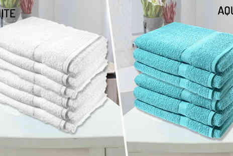 Groundlevel - Set of Three Super Jumbo Bath Sheets Available in Nine Colours - Save 71%