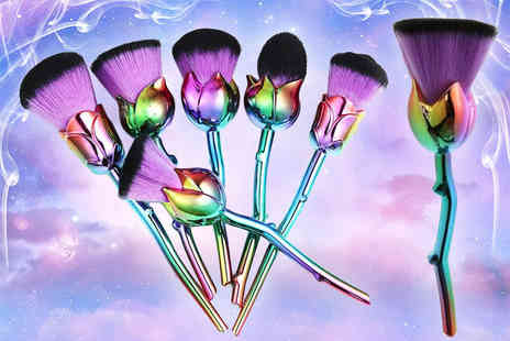 The Ora Shop - Six pack of Beauty and the Beast inspired makeup brushes - Save 80%