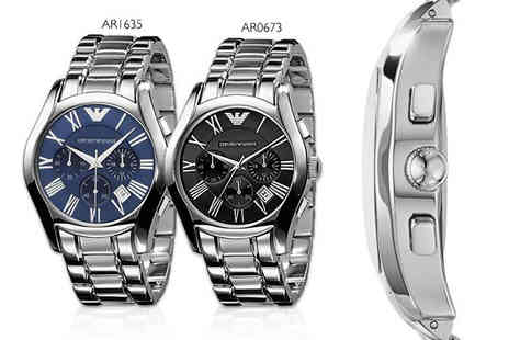 Wristy Business - Mens Armani watch choose from two designs - Save 59%
