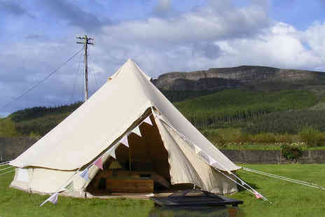 Swanns Bridge Glamping - Two night luxury cabin stay for two or bell tent stay for up to two adults and two children - Save 37%