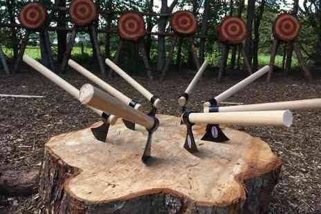 Yorkshire Activity Centre - Two hour axe throwing and archery experience for one, two or four - Save 60%