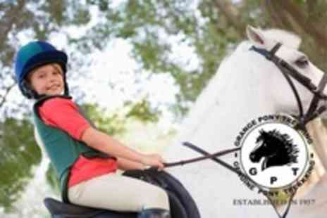 Grange Trekking - Horse Riding With Lesson and Trek For Two - Save 60%