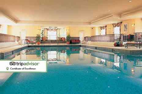 Nuremore Hotel and Country Club - One or two night stay for two with breakfast, two course dining, leisure facilities access - Save 27%