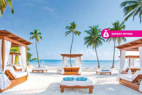 Bargain Late Holidays - Seven or 14 night 5 Star all inclusive Punta Cana, Dominican Republic holiday with flights - Save 34%