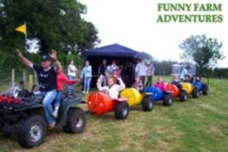Funny Farm Adventures - One Adult or Child Ticket - Save 50%