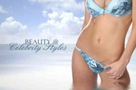 Beauty @ Celebrity Styles - Full Leg, Bikini, and Underarm Wax - Save 61%
