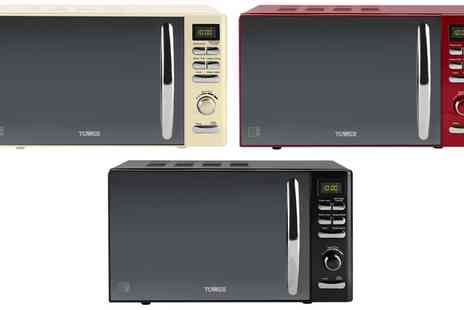Groupon Goods Global GmbH - Tower Infinity Digital Solo 30 Litre Microwave With Free Delivery - Save 50%