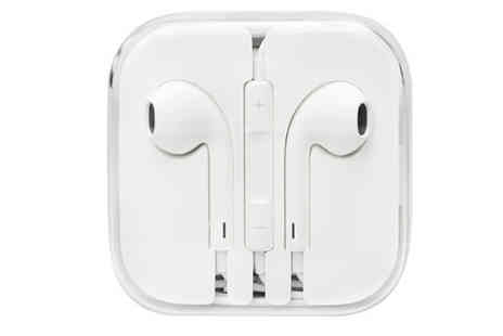 Ckent - Pair of Apple earpods with a mic and volume control - Save 56%