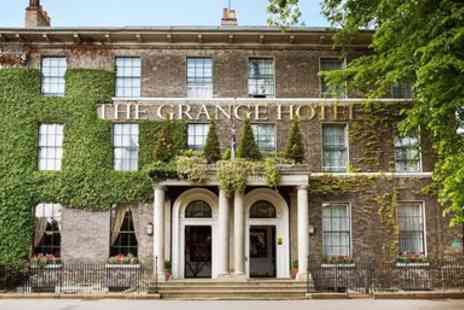 The Grange Hotel - Excellent 2 AA-Rosette meal for 2 at York townhouse - Save 35%