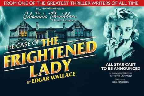 ATG Tickets - The Case of the Frightened Lady Ticket at the Aylesbury Waterside Theatre from 19th to 24th Feb 2018 - Save 46%