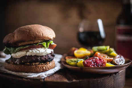 The Mash Tun - Buffalo Burger or Pizza & Beer, Wine or Cocktail for 2 - Save 60%