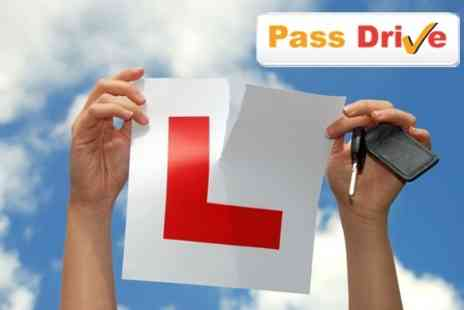 Pass Drive - Three One Hour Driving Lessons - Save 74%