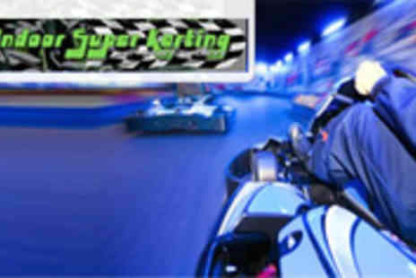 Indoor Super Karting - Incredible Indoor Go Karting - Save 58%