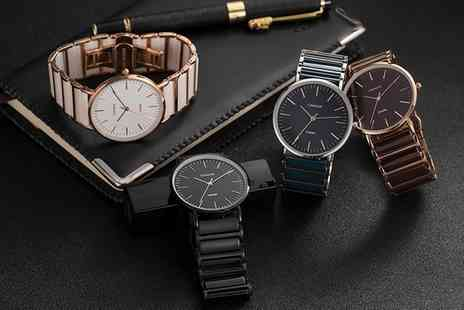 Groupon Goods Global GmbH - Cimara Ceramic Unisex Watches in Choice of Colour With Free Delivery - Save 0%