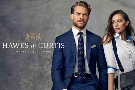 Hawes & Curtis - £50 Voucher to Spend at Hawes and Curtis - Save 40%