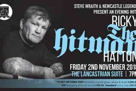 Newcastle Legends - Ticket to An Evening with Ricky Hatton on 2 November - Save 20%