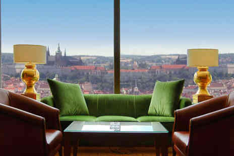 Corinthia Hotel Prague - Five Star Panoramic Views of a Fairytale City For Two - Save 80%