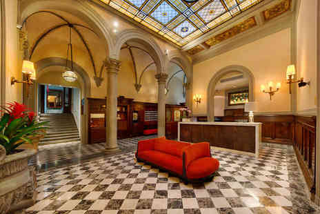 NH Collection Firenze Porta Rossa - Four Star Regal Renaissance Hotel Stay For Two in 13th Century Tower - Save 59%