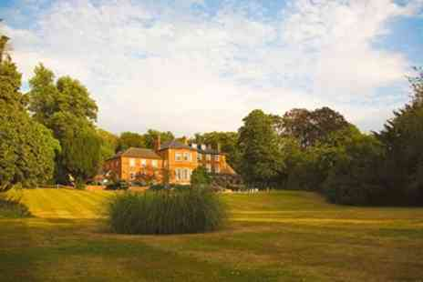 Brandshatch Place Hotel & Spa - Meal for Two with champagne in Kent country house - Save 50%