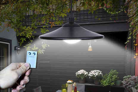 SHS Trading - Solar powered outdoor Led spotlight - Save 61%