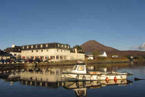 Dunollie Hotel - Overnight stay for two with breakfast and a glass of wine - Save 59%
