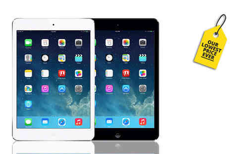 Renew Electronics - Grade B refurbished 16Gb Apple iPad Mini choose either a black or white tablet - Save 38%