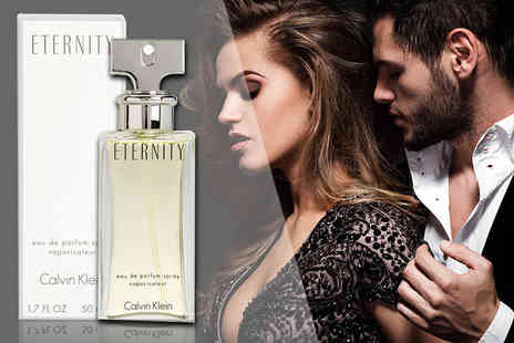 Deals Direct - 50ml bottle of Calvin Klein Eternity eau de parfum - Save 52%