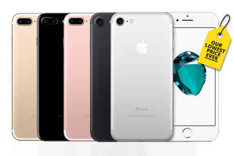 GPSK - Refurbished 32Gb Apple iPhone 7, 128Gb model or 256Gb model choose from five colours - Save 42%
