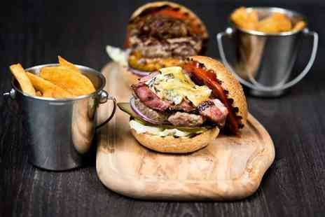 The Savannah Bar and Restaurant - Burger, chips, and a glass of Prosecco for 2 - Save 54%