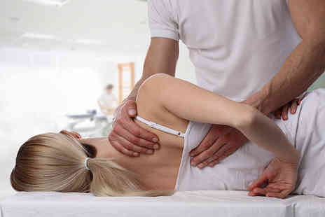 Manual Treatment - Osteopathy consultation, trigger point therapy and a medical deep tissue massage - Save 70%