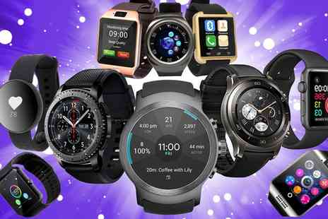 Groupon Goods Global GmbH - Smartwatch Mystery Deal with a Chance to Receive Samsung Gear 3 and Apple Watch Series 2 - Save 0%
