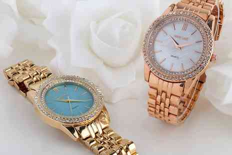 Neverland Sales - The Mariel or Christie Womens Watch with Crystals from Swarovski With Free Delivery - Save 80%