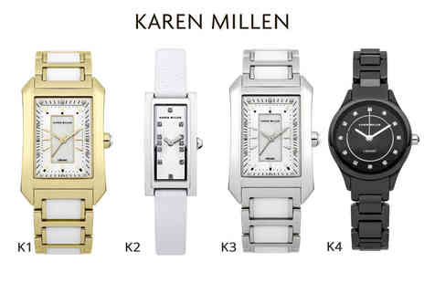 Brand Logic - Ladies Karen Millen watch in a choice of 12 designs - Save 81%