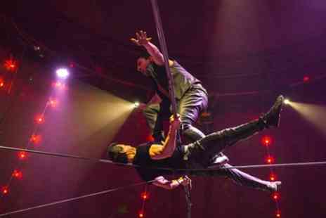 Circus Zyair - Two or Four Early Bird Side View Tickets to Circus Zyair with Popcorn on 17 to 22 April - Save 73%