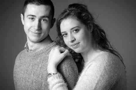 Memories Portrait Photographers - Valentines couples photoshoot & prints package - Save 0%