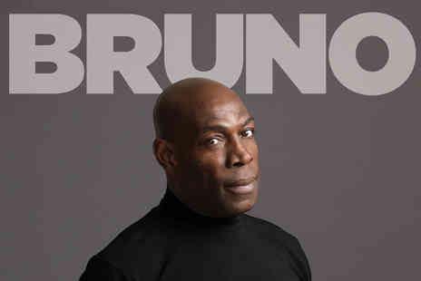 ATG Tickets - Ticket to see Frank Bruno Let Me Be Frank on Wednesday 21st February - Save 56%