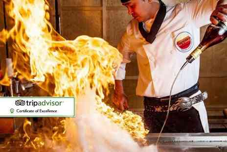 Sapporo Teppanyaki - Sapporo Teppanyaki dining experience for two - Save 44%